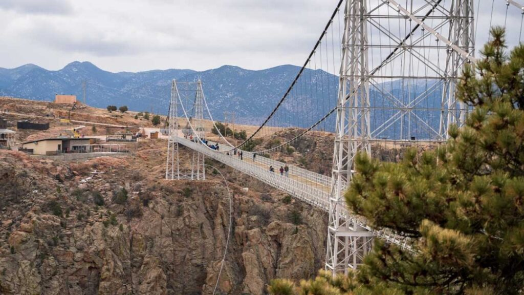 Royal Gorge Bridge is one of the Highest Bridges in the US