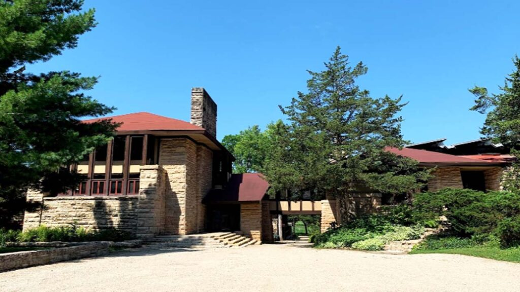 Taliesin East: Frank Lloyd Wright's Perfect Country Home
