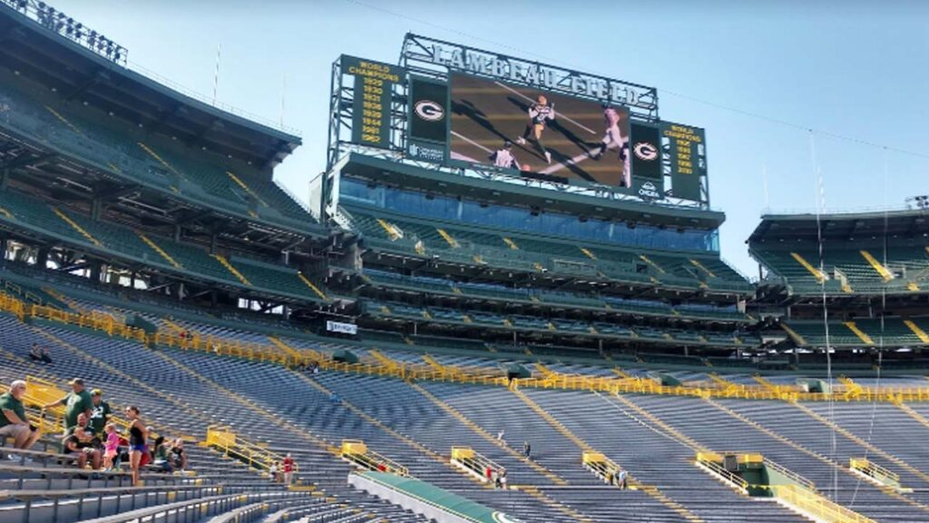 The Green Bay Packers: Lambeau Field and the Walk of Legends
