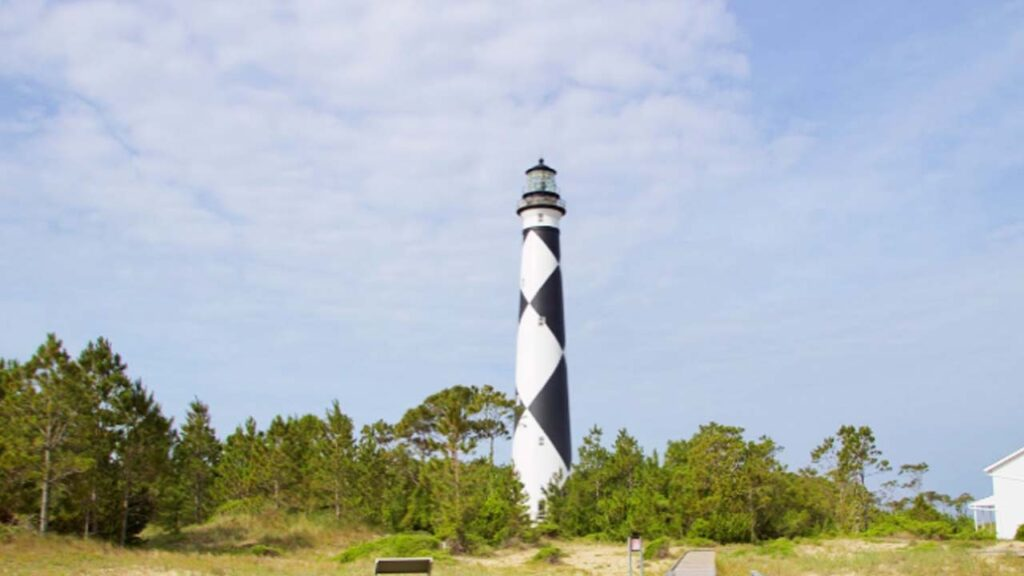 Cape Lookout Lighthouse in North Carolina