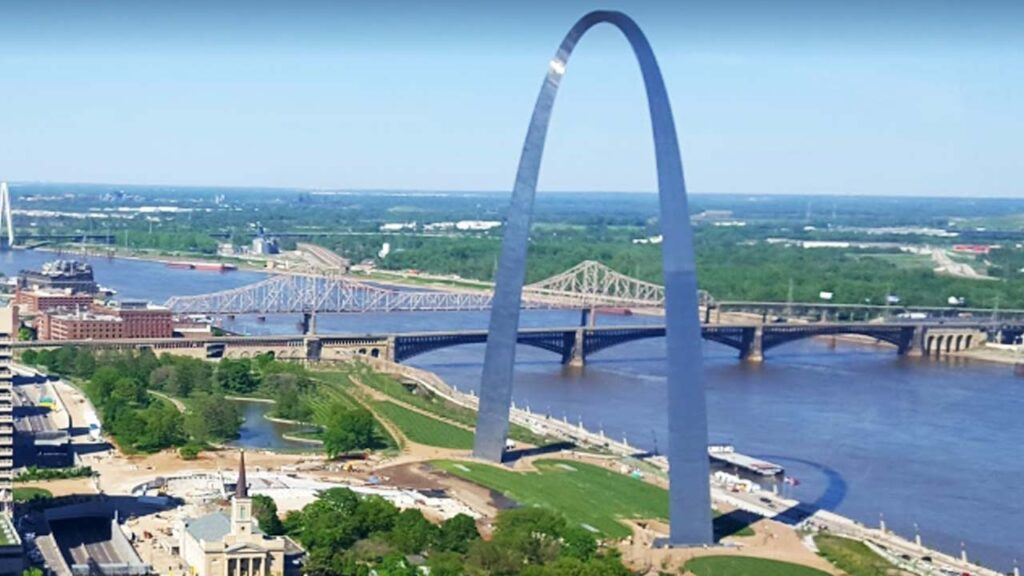 The Gateway Arch, Missouri