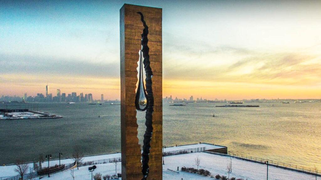 Teardrop Memorial, New Jersey
