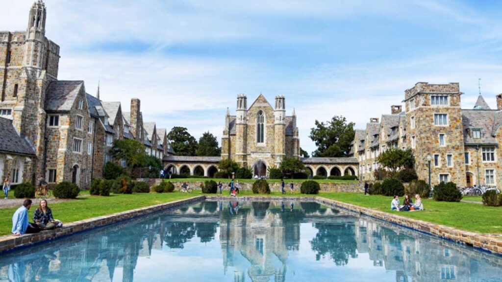 Berry College is one of the largest university campuses in the US