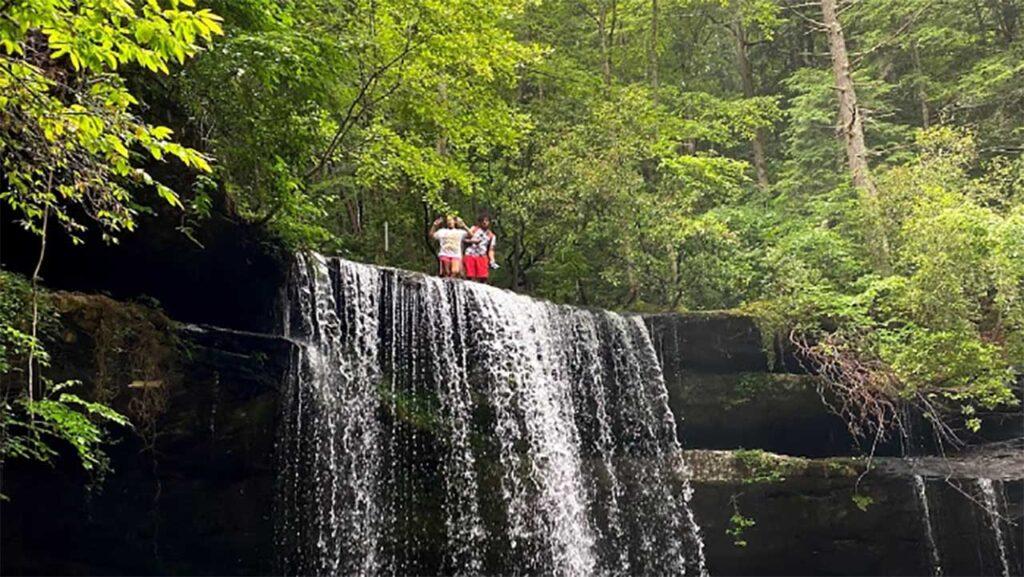 Caney Creek Falls Trail