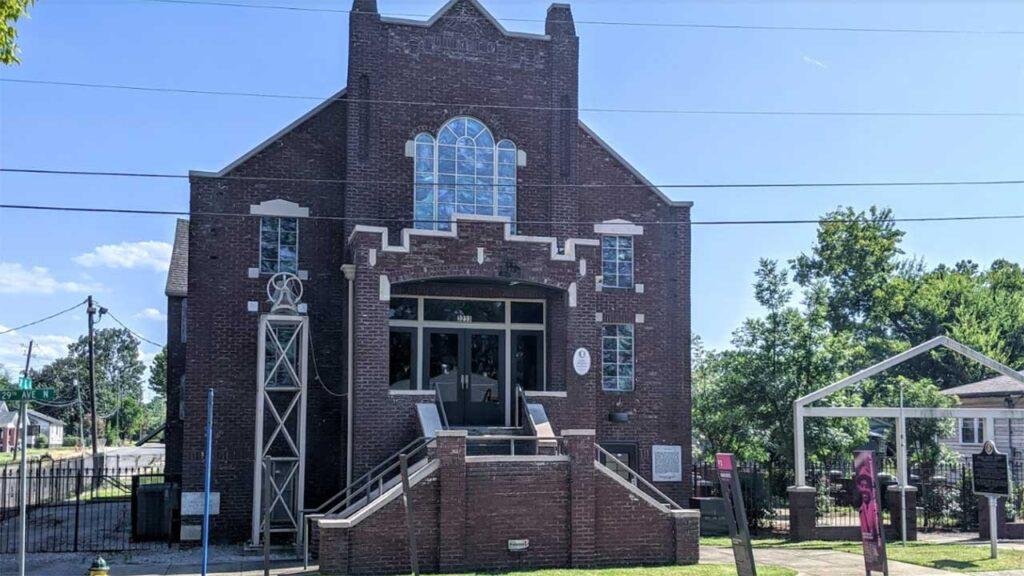 Bethel Baptist Church is one of the Historical Sites in Alabama