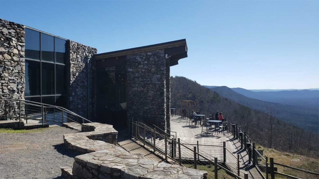 Cheaha Mountain is one of the Highest Mountains in Alabama
