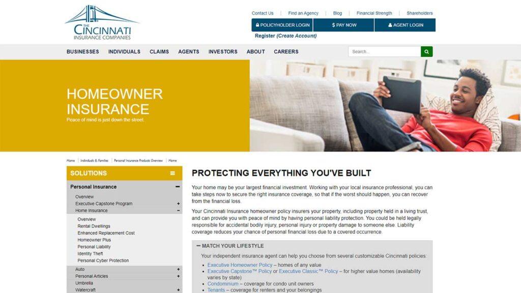 Cincinnati Insurance is one of the Cheap Homeowners Insurance in Alabama