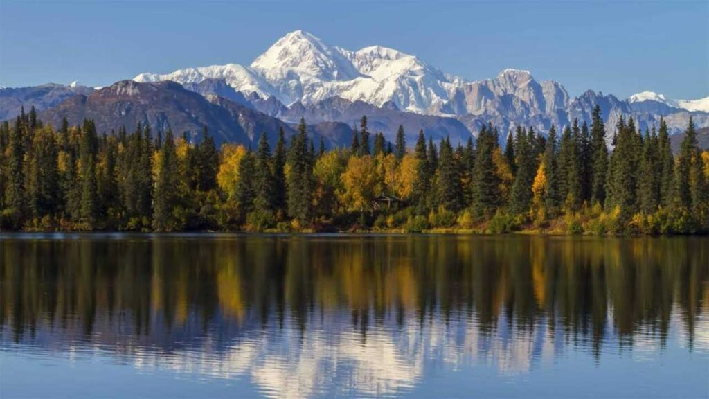 Denali is one of the tallest mountains in Alaska