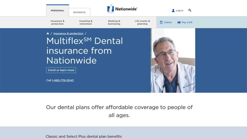 Nationwide is one of the Cheap Dental Insurance in Alabama
