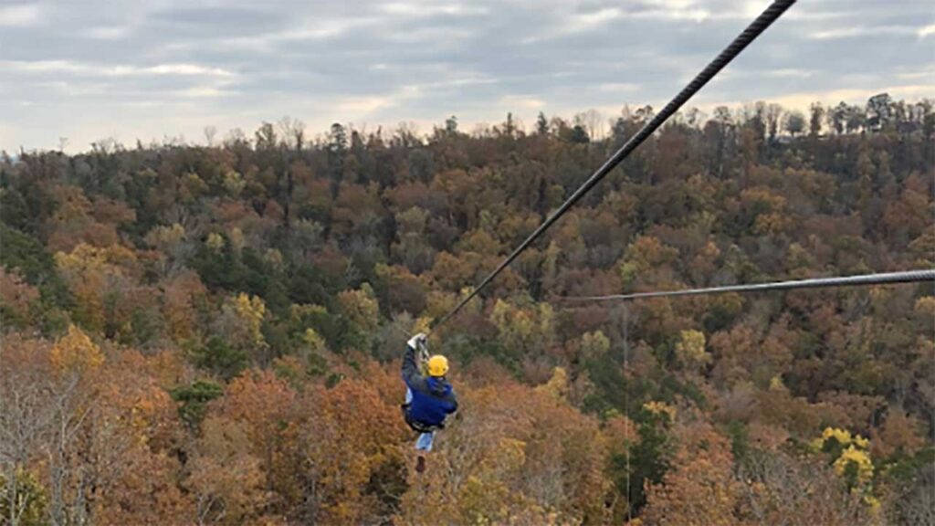 Screaming Eagle At Lake Guntersville is one of the Best Ziplines in Alabama