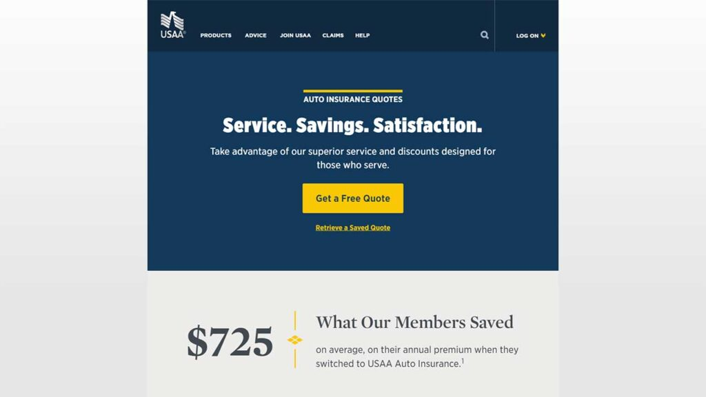 USAA is one of the Cheap SR22 Insurance in Alabama