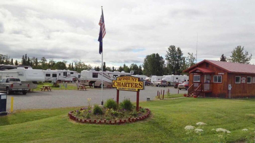Alaskan Angler RV Resort & Cabins is on of the top RV parks in Alaska