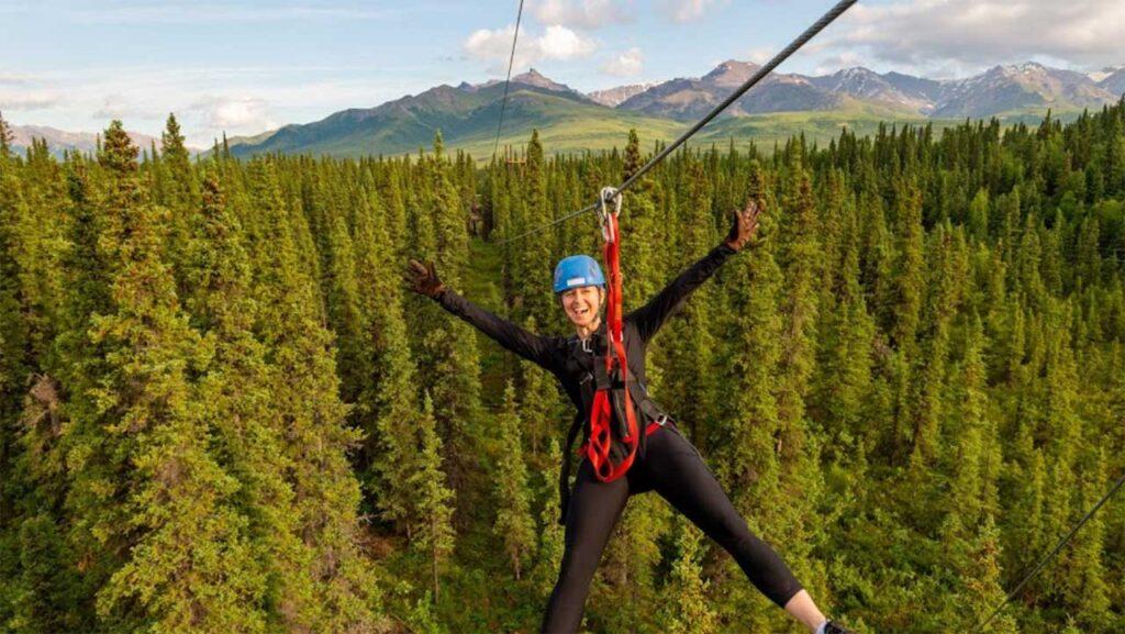 Denali Park Zipline is one of the Best Ziplines in Alaska