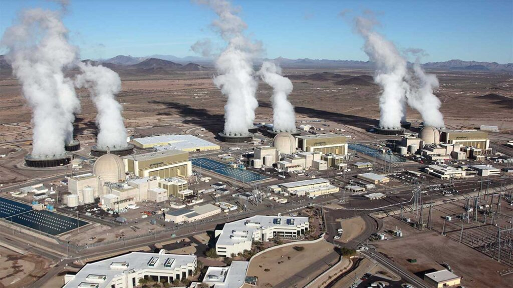 Palo Verde Nuclear Generating Station is one of the largest nuclear power plants in the US