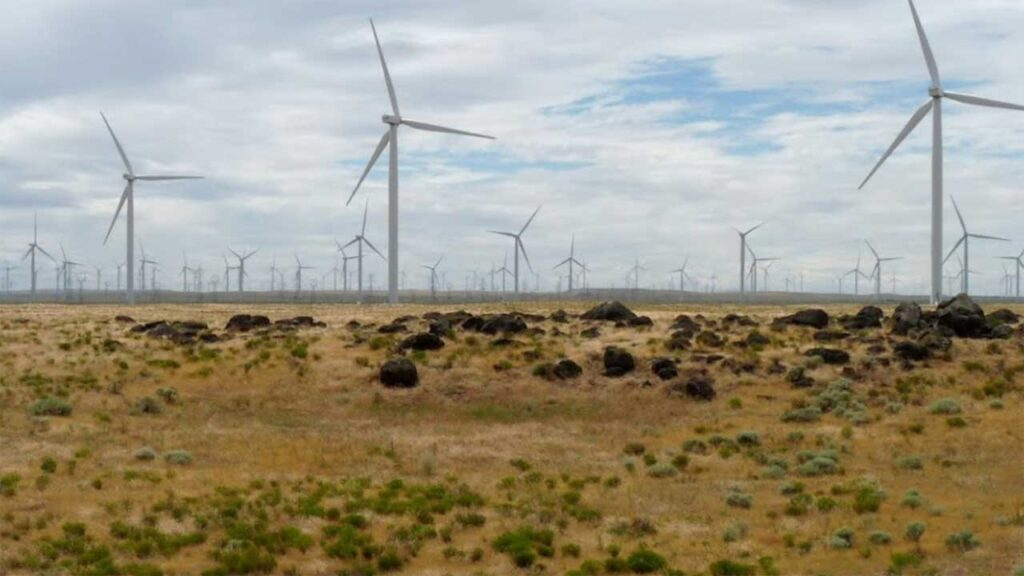 Shepherds Flat Wind Farm is one of the biggest wind farms in the US
