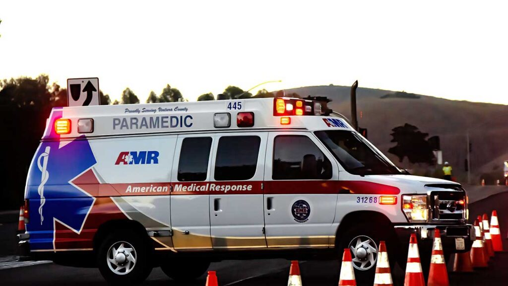 American Medical Response is one of the largest ambulance companies in the US
