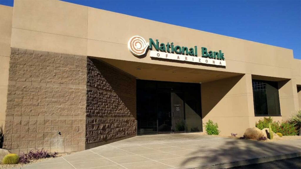 National Bank of Arizona is one of the best banks in Arizona state