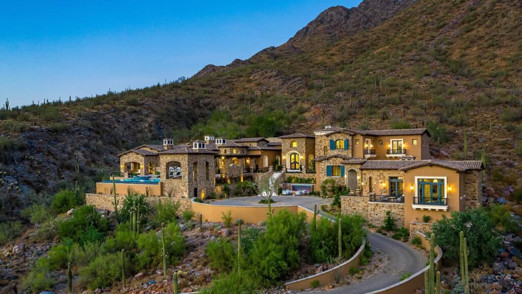 11200 E Canyon Cross Way is one of the most expensive houses in Arizona