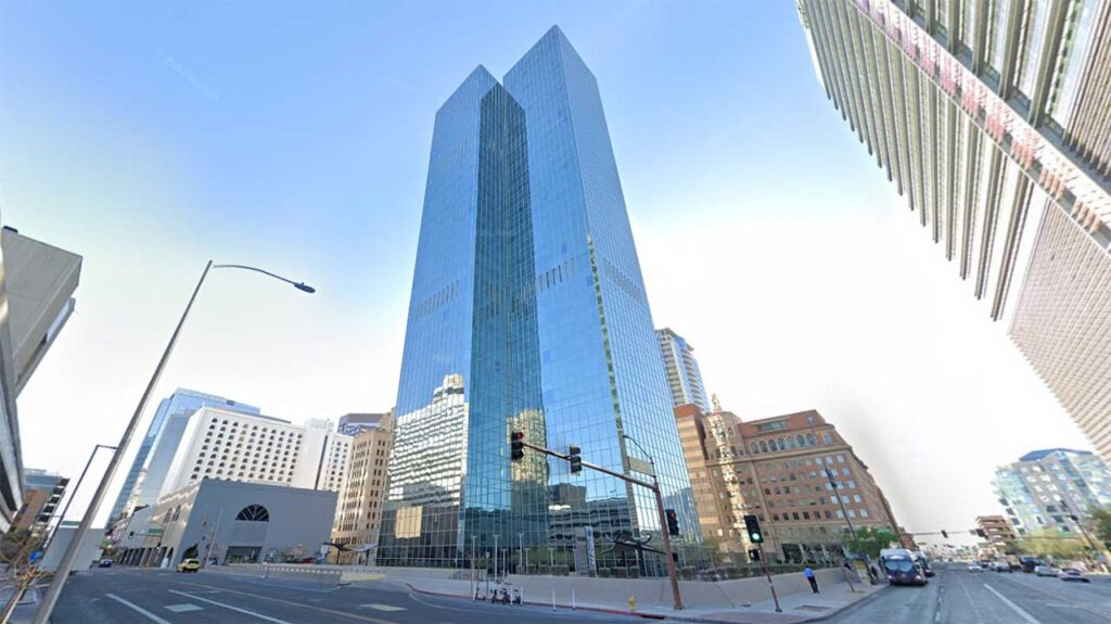 Chase Tower is one of the tallest buildings in Arizona