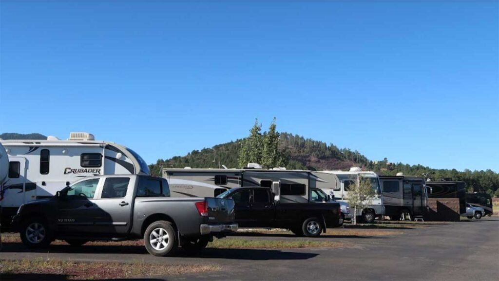 Grand Canyon Railway RV Park is one of the top RV parks in Arizona
