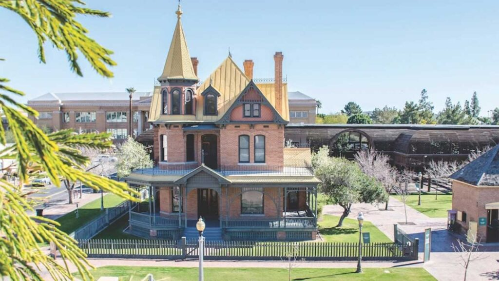 Rosson House Museum at Heritage Square is one of the top  historical sites in Arizona