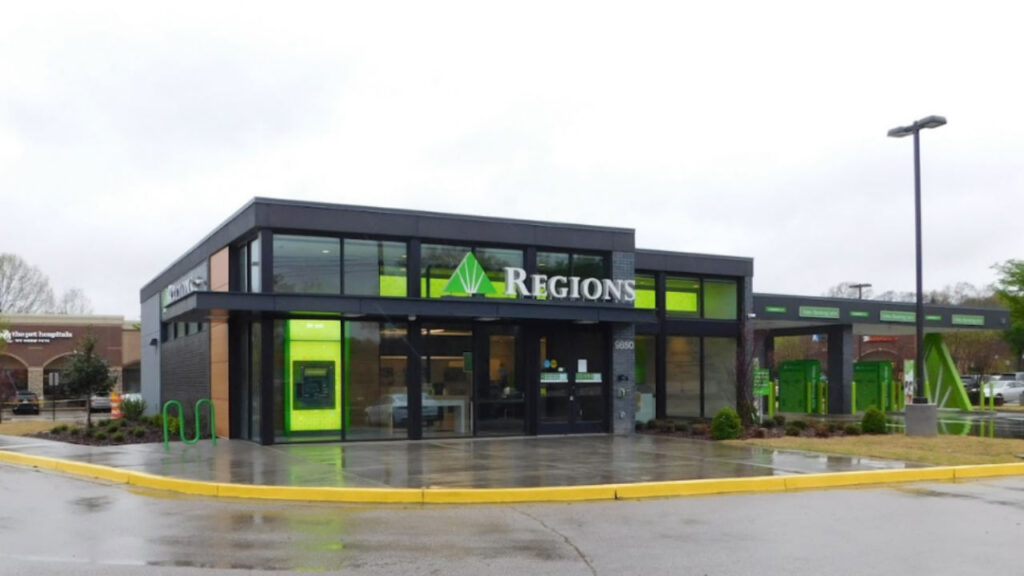 Regions Bank is one of the most reliable banks in Arkansas