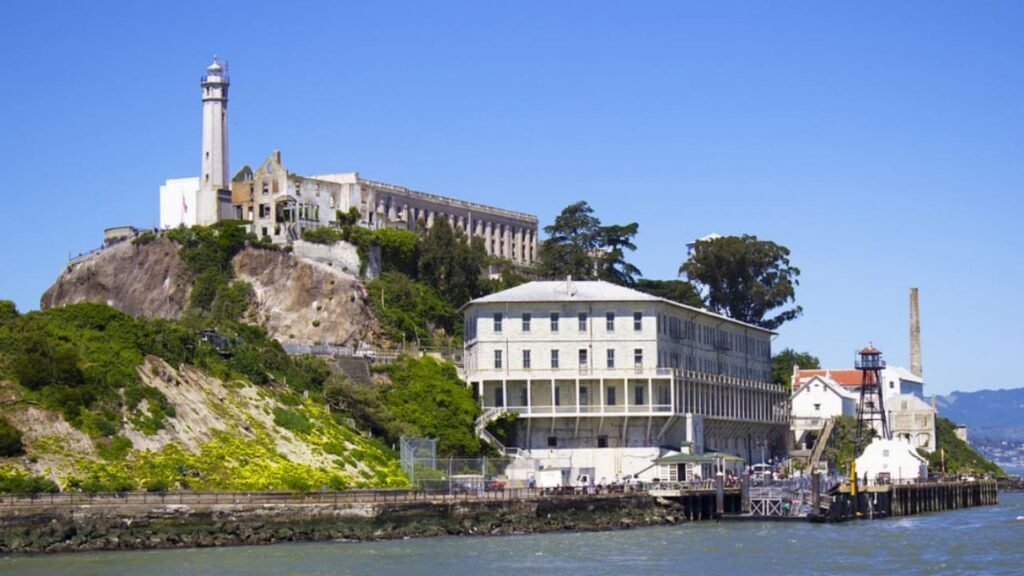 Alcatraz Island is one of the best historical sites in California