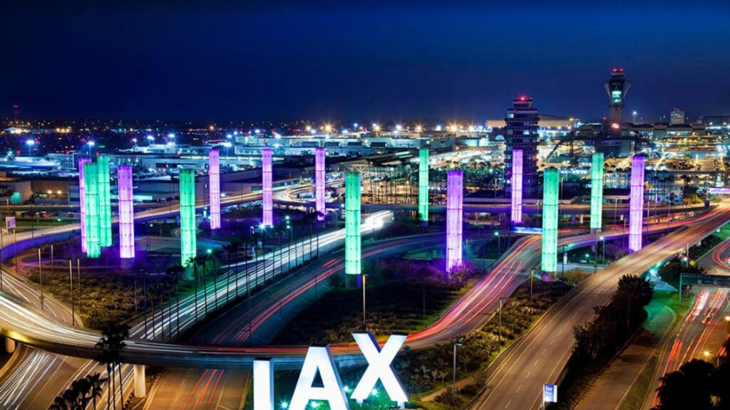 Los Angeles International Airport is one of the best international airports in California