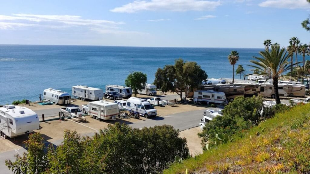 Malibu Beach is one of the best RV parks in California